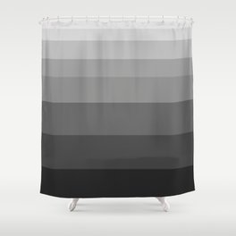 Shade of Grey. Shower Curtain