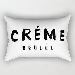 CRÉME BRÛLÉE - taste for fashion Rectangular Pillow