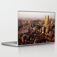 tokyo Laptop & iPad Skins featuring Tokyo by Sushibird