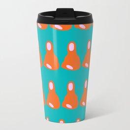 Mona Pattern Travel Mug