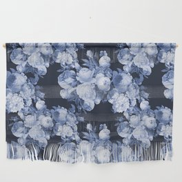 Denim and Roses Wall Hanging