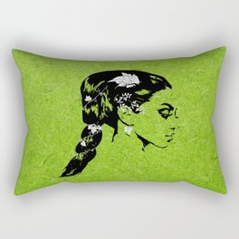 Lady of the Vine Rectangular Pillow