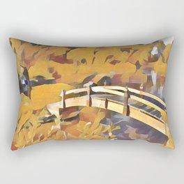 Dreamland Gold Rectangular Pillow