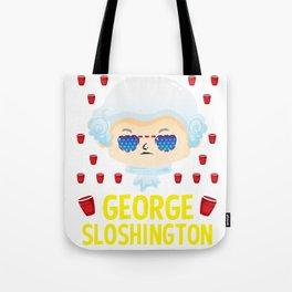 george sloshington washington 4th of july Tote Bag