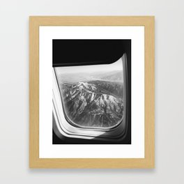 View of Mountains Framed Art Print