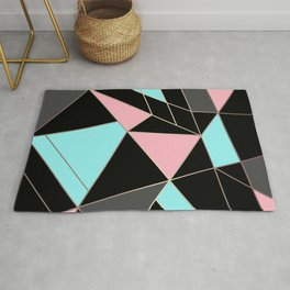 Abstraction . 5 geometric pattern Rug