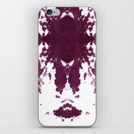 Velvet Kumo Shibori Plum iPhone Skin