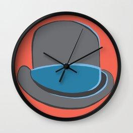 Incognito Hat Wall Clock