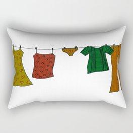 laundry Rectangular Pillow
