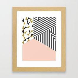 Pink&Gold Room #society6 #decor #buyart Framed Art Print