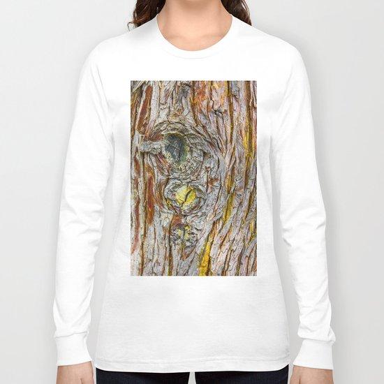 Face of Tree2 Long Sleeve T-shirt