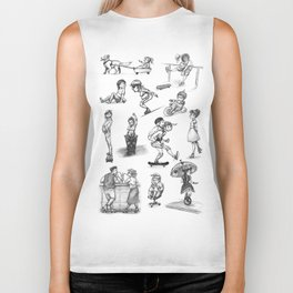 things with wheels Biker Tank