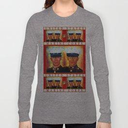 Like Father, Like Son... Once A Marine, Always A Marine Long Sleeve T-shirt