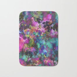 Roses and Wildflowers Bath Mat