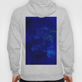 Blue Night- Abstract digital Art Hoody