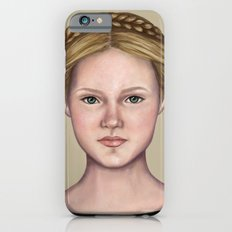 Blonde maiden iPhone 6s Slim Case