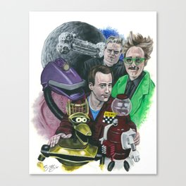 In The Not-Too-Distant Future Canvas Print