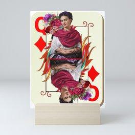 Queen of hearts Mini Art Print