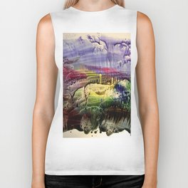 abstract composition 3 . artwork Biker Tank