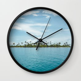 San Blas Islands, Panama Wall Clock