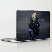 garrus Laptop & iPad Skins featuring Vakarian by Mash92