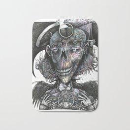 Feminine Skull Bath Mat