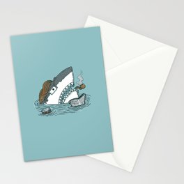 The Dad Shark Stationery Cards
