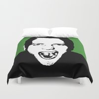 scream Duvet Covers featuring Scream by Jono Williams