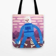 Sad Spaceman  Tote Bag