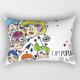 Pop girl Rectangular Pillow