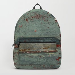Boat Wood Paint Texture Cornwall Backpack