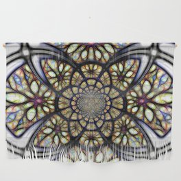 The Art Of Stain Glass Wall Hanging