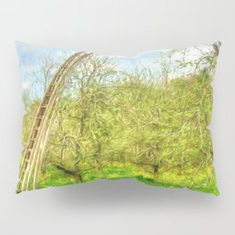 The Lone Crow Pillow Sham