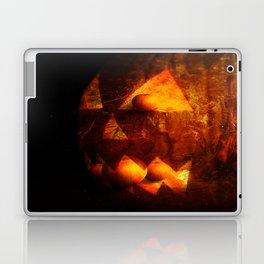 Jack O Lantern And Landscape Laptop & iPad Skin