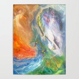 Elemental Dragons Poster