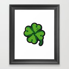 Lucky at 17th march Framed Art Print