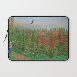 A Day of Forest(8). (coniferous forest) Laptop Sleeve