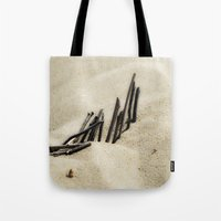 dune Tote Bags featuring Dune by Mario Sa