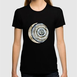 Wood Slice Abstract T-shirt