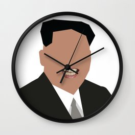 FOGS's People wallpaper collection NO:02B KIM JONG UN PNG Wall Clock
