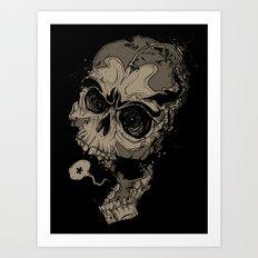 Knocked Speechless Art Print