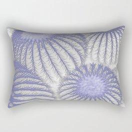 Blue Barrel Cactus Rectangular Pillow