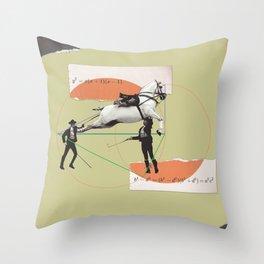 Entertainment formula Throw Pillow