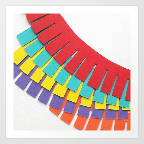 Frills Art Print