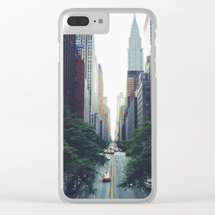 City Park New York 4 Clear iPhone Case