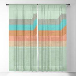 AAZURA MARINE Sheer Curtain