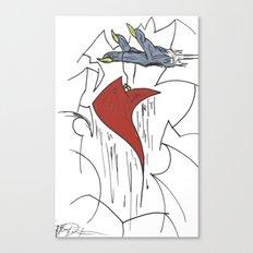 Heart & Hand Canvas Print