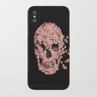threadless iPhone & iPod Cases featuring A Beautiful Death  by Terry Fan