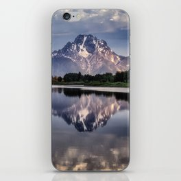 Mt. Moran and the Snake River iPhone Skin
