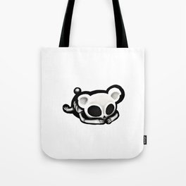 Skeleton bear Tote Bag